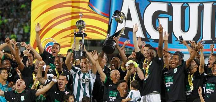 Atlético Nacional VS Junior FC Final Vuelta Liga II-2015